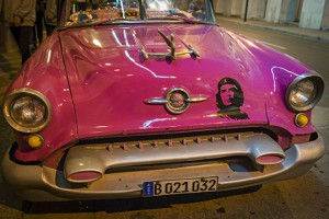 Old car in La Habana