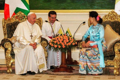 The Pope In Myanmar